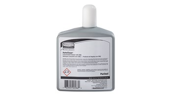 The Rubbermaid Commercial Purinel Drain Maintainer and Toilet Cleaner is designed for use with automatic hygiene systems for urinals and toilets.
