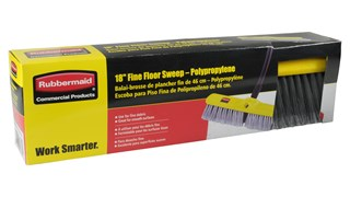 Fine Floor Sweep FG9B0000 is a fine floor sweep push broom designed to pick up the finest debris.