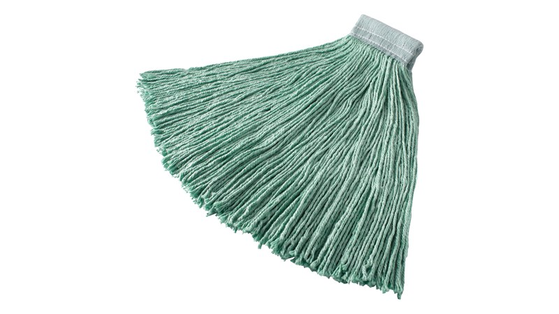 The Rubbermaid Commercial Synthetic Mop Head is ideal for general, all purpose cleaning.