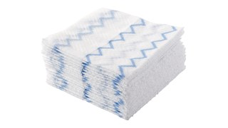 HYGEN™ Disposable Microfiber is proven to remove 99.9% of tested viruses and bacteria. Innovative technology knits microfiber yarn into a non-woven substrate, creating unique, disposable microfiber.
