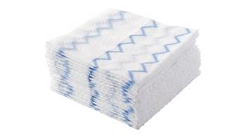 HYGEN™ Disposable Microfiber Cloth Refill, White