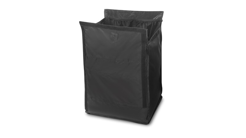 The Rubbermaid Commercial Executive Quick Cart Liner - Medium is a inner replacement liner for the Medium Quick Cart (1902466).