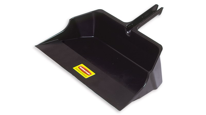 "Jumbo Dust Pan 22"" FG9B6000 is made of heavy-duty plastic.  Our largest size to hold ample amounts of dirt and debris."
