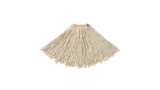 The Dura Pro Cotton Mop is an economical solution for general-purpose floor cleaning or one-time use.
