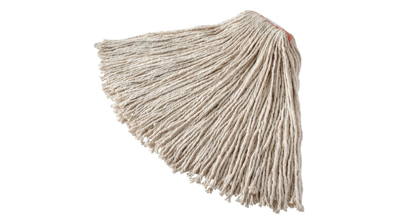The Rubbermaid Commercial Cut End Mop is an economical, four-ply cut-end floor mop ideal for general purpose cleaning.