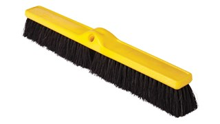 "Medium Floor Sweep 24"" FG9B1000 is a push broom designed to round up heavier dirt from multiple floor surfaces."