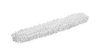The Rubbermaid Commercial HYGEN™ Microfiber Flexi-Wand Dusting Sleeve easily traps dust, hair, and larger particles.