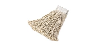 The Rubbermaid Commercial Economy Mop Head is designed for general purpose cleaning for floor finish applications and constructed of economical rayon fibers.