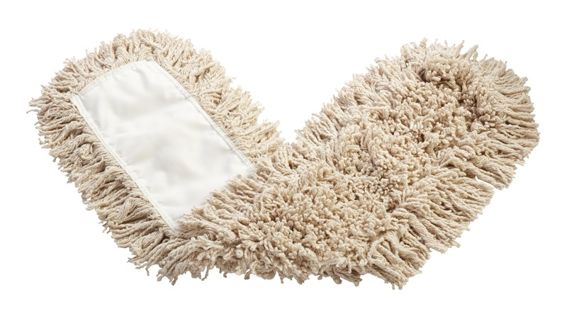 """Twisted-Loop Cotton Dust Mop 36"""" FGK75500 is a premium prelaundered dust mop that provides maximum durability and optimal cleaning performance."""
