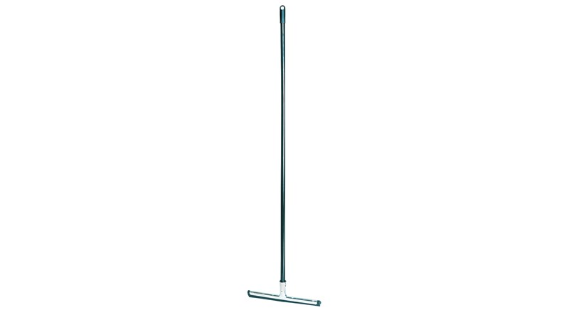 Lobby Pro® Wet/Dry Cleaning Wand FG9M0100 is a squeegee designed for use with our lobby dustpans to clean up wet and dry debris.