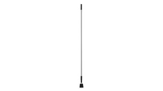 The Rubbermaid Commercial Snap-On Fiberglass Dust Mop Handle is resistant to corrosion and offers a high strength-to-weight ratio.