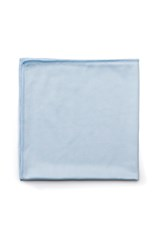 "Executive Series™ HYGEN™ 16"" X 16"" Glass Microfiber Cloth, 12 Pack, Blue"