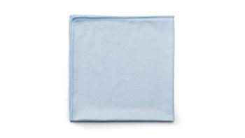 "Executive Series™ HYGEN™ 16"" X 16"" Glass Microfiber Cloth, 12 Pack, Blue"