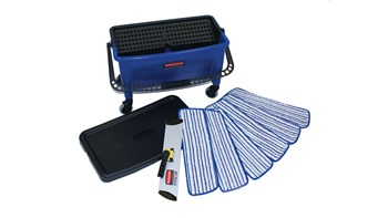 Microfiber Finish Kit, Blue