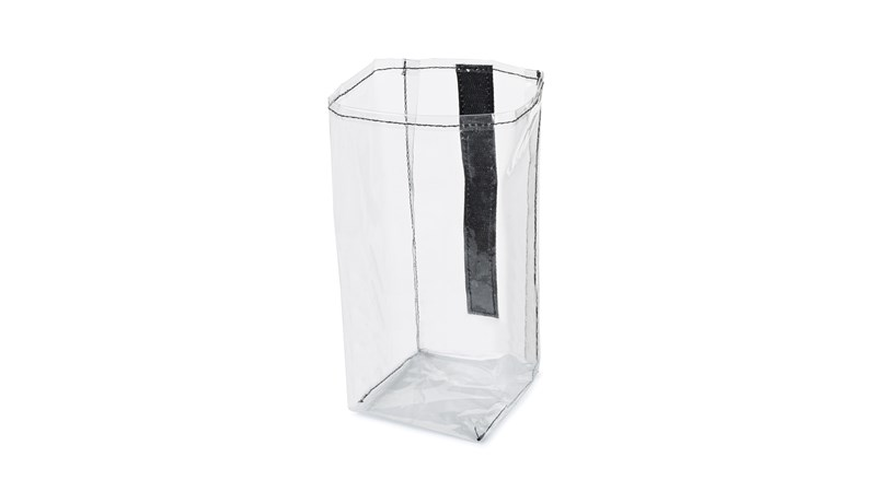 The Rubbermaid Commercial Executive Quick Cart Plastic Pocket Liner a replacement liner for the Large (1902465), Medium (1902466), & Small (1902467) Quick Carts.