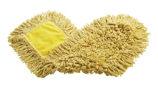 "Trapper® Dust Mop 24"" FGJ15303YL00 is a looped-end, balanced-blend dust mop for general-purpose dust mopping."