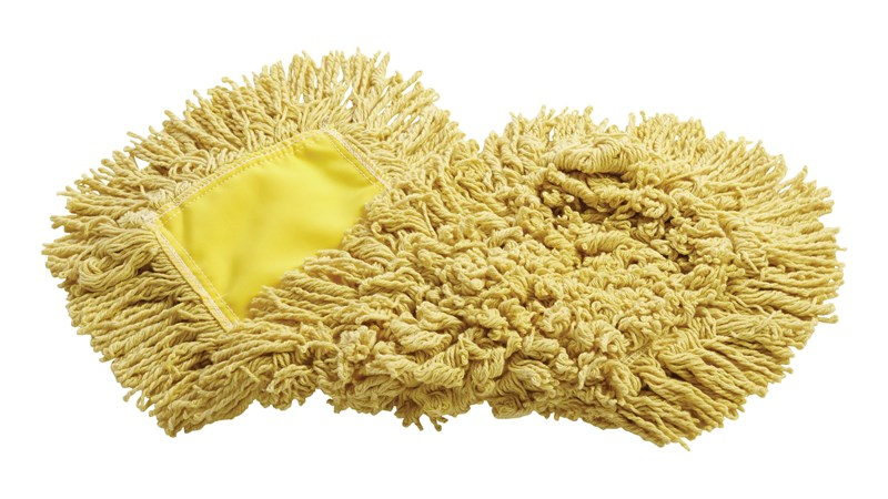 """Trapper® Dust Mop 18"""" FGJ15303YL00 is a looped-end, balanced-blend dust mop for general-purpose dust mopping."""