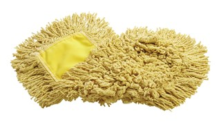 "Trapper® Dust Mop 18"" FGJ15303YL00 is a looped-end, balanced-blend dust mop for general-purpose dust mopping."