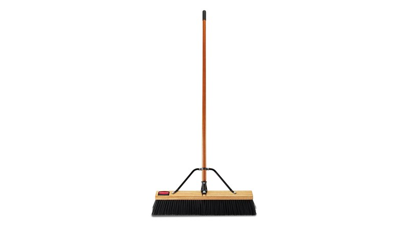 The new push brooms from Rubbermaid Commercial Products offer enhanced features and bristle options to ensure efficient, hassle-free cleanup for the most demanding commercial jobs.