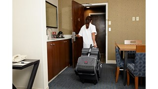 The Executive Quick Cart is the industry's most durable mobile cart solution for housekeeping, janitorial and maintenance environments.