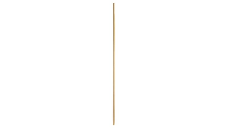 Tapered Tip Wooden Broom Handle with Sanded Finish