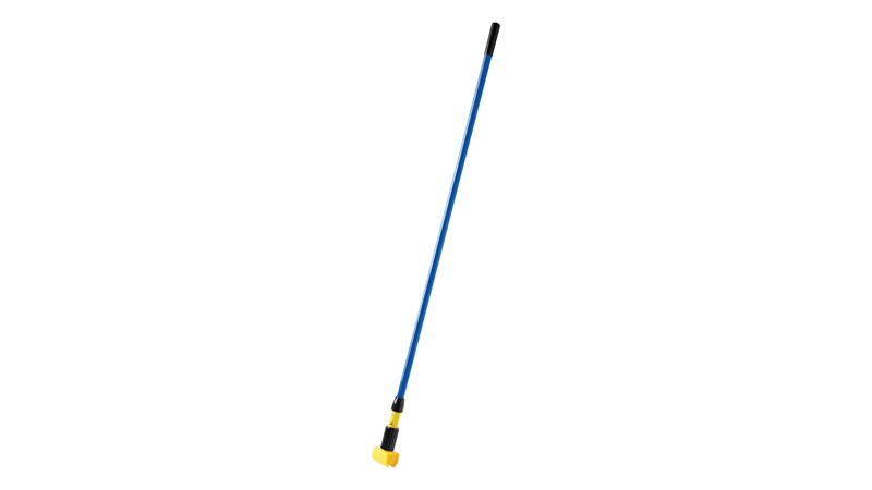 "Gripper® Clamp Style Handles hold mop firmly between the jaws of the mop handle; should be used with 5"" (12.7 cm) headband mops only."