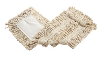 The Rubbermaid Commercial Disposable Cut-End Cotton Dust Mop is great for general cleaning.