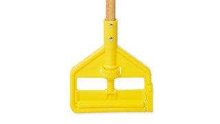 """Invader® Side Gate Handle's thumb wheel clamps the mop firmly in place; should be used with 1"""" (2.5 cm) headband mops only."""