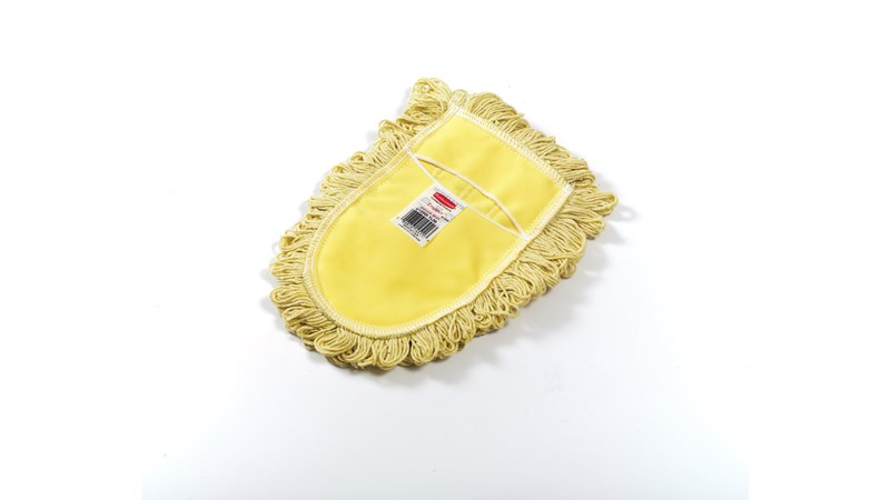 The dust mop head is for use with the wire frame mop handle. The floor mop has a wood handle with heavy-gauge plated wire frame. It is ideal for spot dust mopping in tight corners, under equipment or behind furniture.