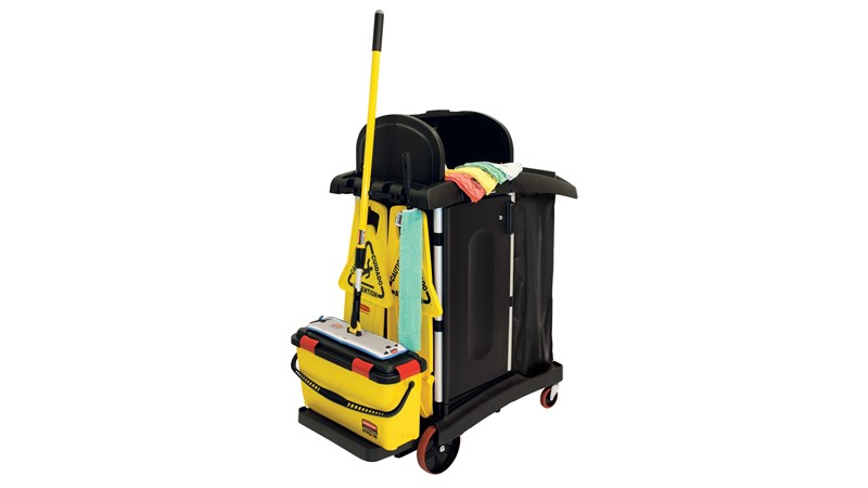 HYGEN™ Microfiber Cleaning System Kit is designed for use with the High Security Cleaning Cart to increase efficiency and ensure cleaning best practices are followed. Superior Microfiber textiles deliver cleaning efficiency and durable, ergonomic tools and equipment to maximize productivity.