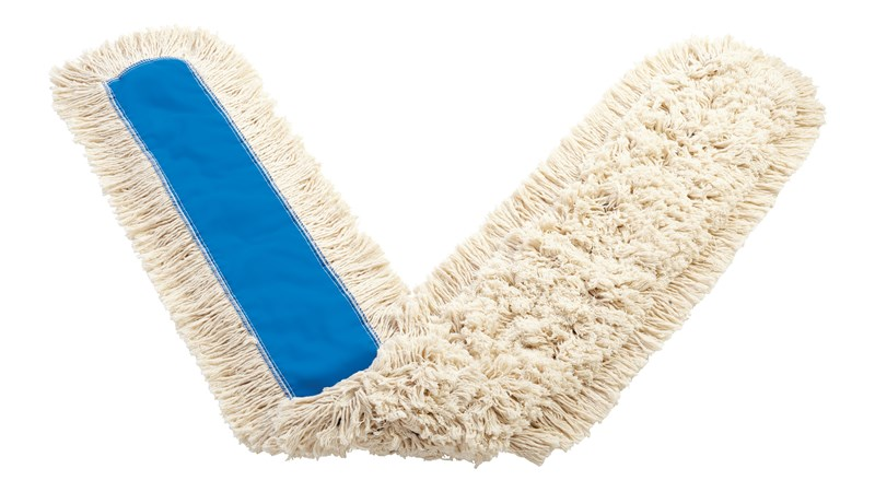 """Kut-A-Way® Dust Mop 72"""" FGK15900 is a cut-end mop excellent for general-purpose dust mopping."""