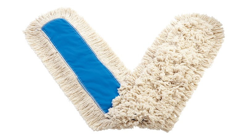"""Kut-A-Way® Dust Mop 60"""" FGK15800 is a cut-end mop excellent for general-purpose dust mopping."""