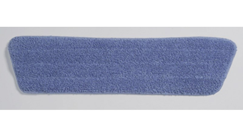 The Light Commercial Microfiber Damp Mop Pad is designed with a premium split nylon/polyester blend microfiber which provides optimal wet mopping performance to keep floors sparkling.  Innovative Microfiber technology is proven to eliminate the food source for live pathogens and reduce the risk of infection.