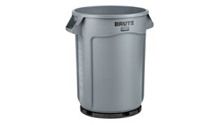 The BRUTE® Anchor secures BRUTE containers to concrete surfaces for a lifetime of use. The structural foam base fits any 20, 32, 44, and 55-gallon BRUTE container and is guaranteed to never fade, rust, chip, dent or peel.