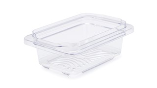 The Rubbermaid Commercial Freshworks™ Produce Saver Keeps Produce Fresher Longer.*