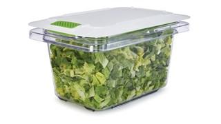 The Rubbermaid Commercial Freshworks™ Produce Saver Keeps Produce Fresher Longer.*