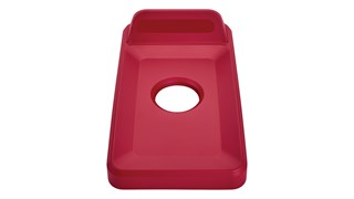 Slim Jim® recycling lids are designed to make recycling easier with consistent color-coding, lid openings and waste stream options