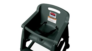 Sturdy Chair™ High Chairs make safety and cleanliness a priority for your youngest patrons. Microban® technology provides allover protection from bacteria growth that can cause odors and staining and complies with FDA standards.