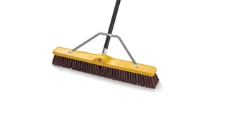 Super Self-Locking Broom Handle FG635700 is a broom handle with a threaded tip.