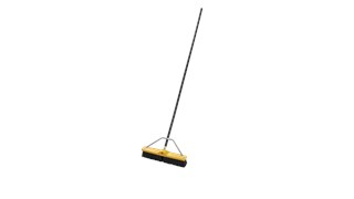 "Medium Floor Sweep 18"" FG9B0600 is a push broom designed to round up heavier dirt from multiple floor surfaces."