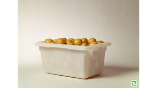 The Rubbermaid Commercial Food Storage Tote is NSF and USDA Certified.